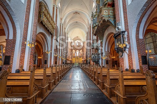 istock Roskilde Cathedral Interior - Roskilde, Denmark 1329128069