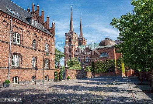 istock Roskilde Cathedral - Roskilde, Denmark 1329128217