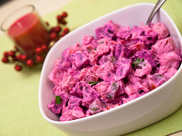 Rosolli - Christmas salad from Finland – Foto