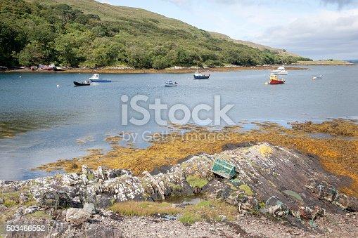 istock Rosroe Harbor, Killary Fjord, Connemara National Park, County Ga 503466552
