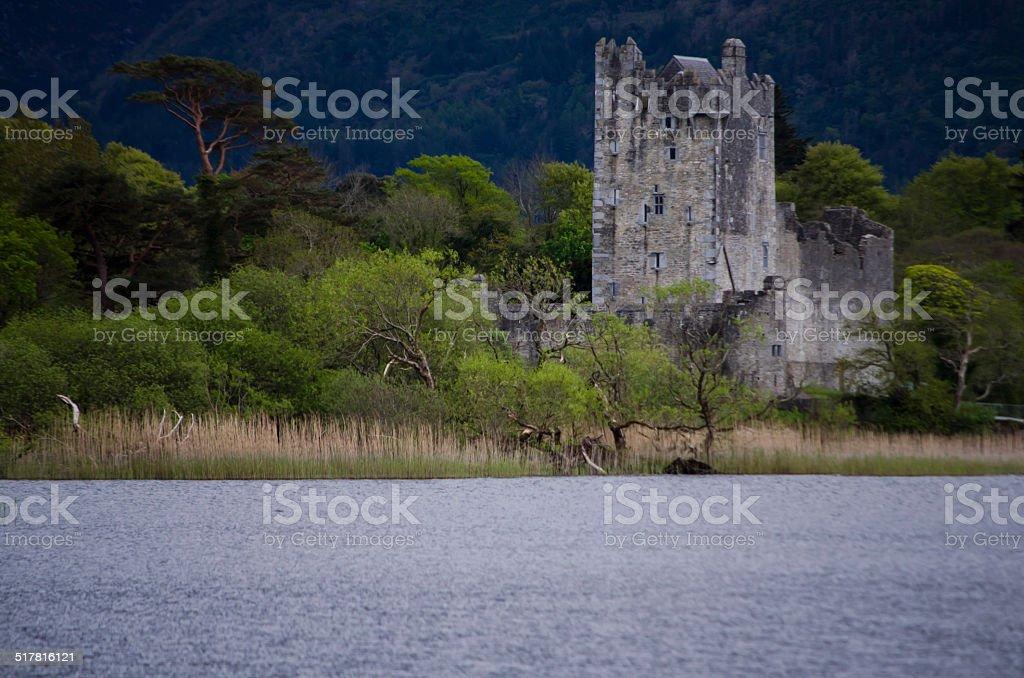 Ross Castle, Killarney, Ireland stock photo