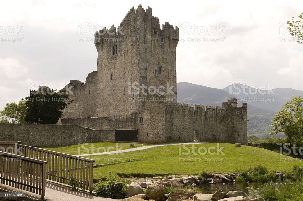 Ross Castle Killarney stock photo