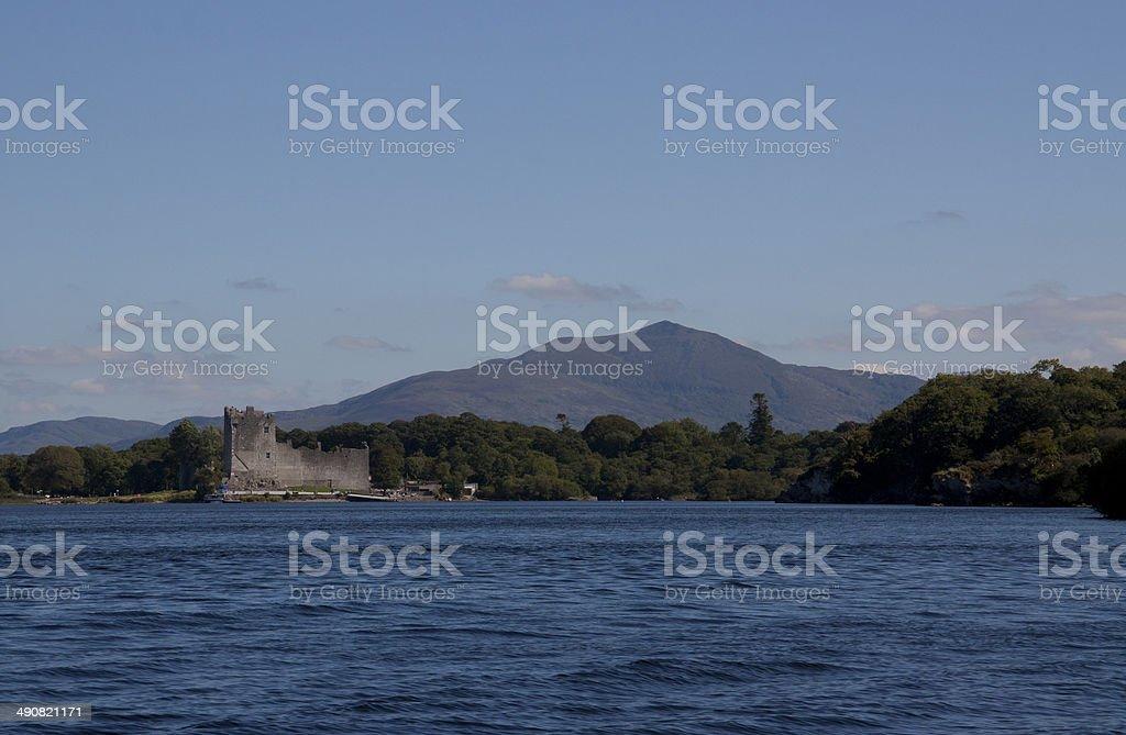Ross Castle, Killarney stock photo