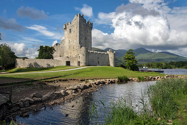Ross Castle - Killarney - Republic of Ireland stock photo