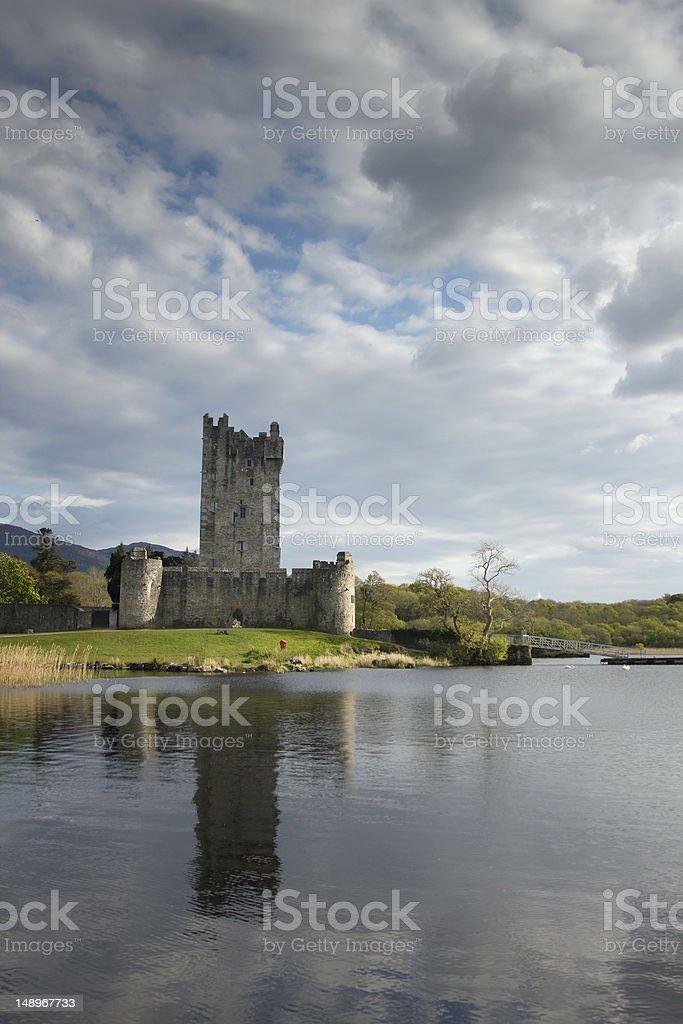 Ross Castle  near Killarney, Ireland stock photo
