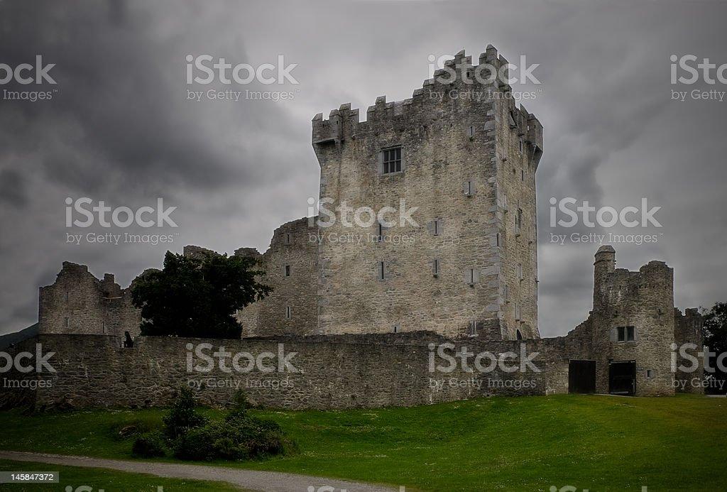 Ross Castle stock photo