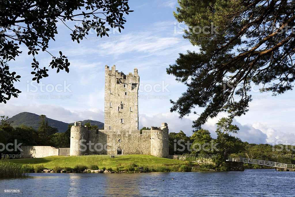 Ross Castle stock photo