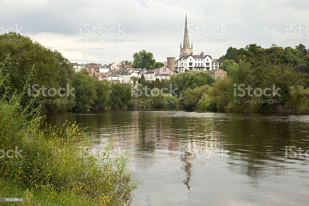 Ross on Wye, Herefordshire stock photo