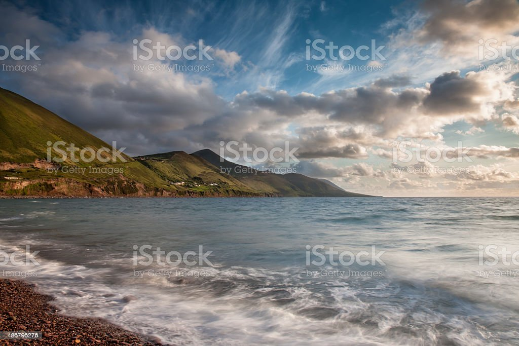 Rossbeigh stock photo