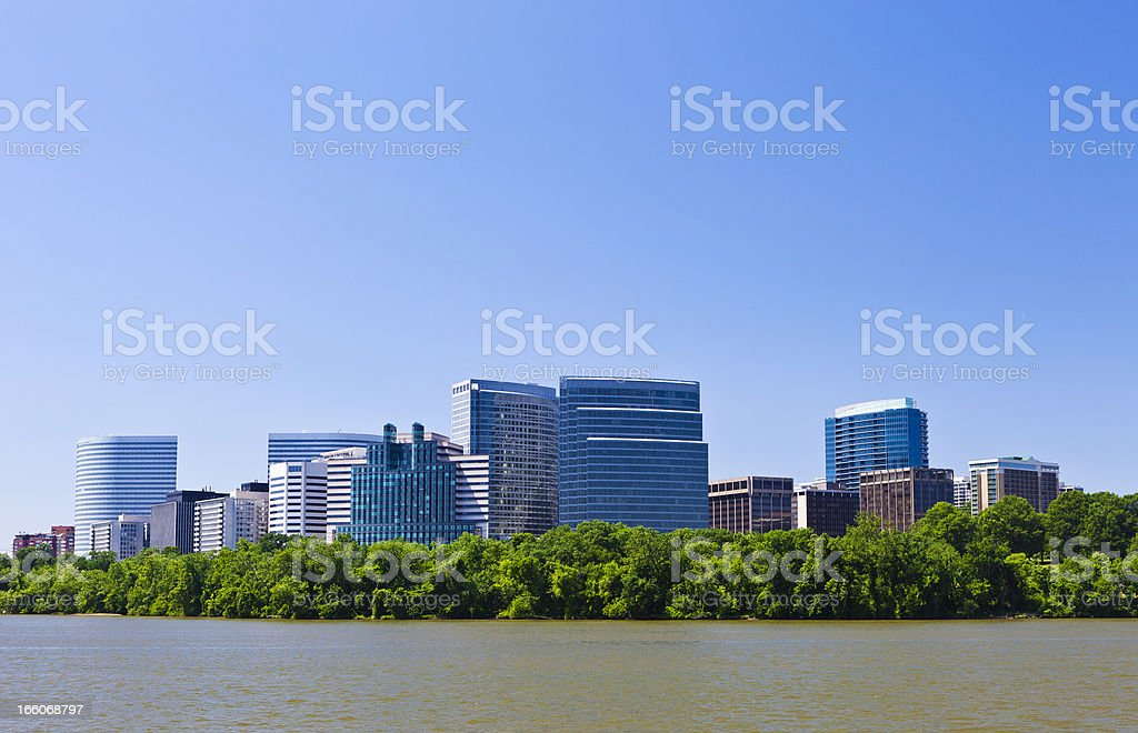 Rosslyn, Virginia stock photo