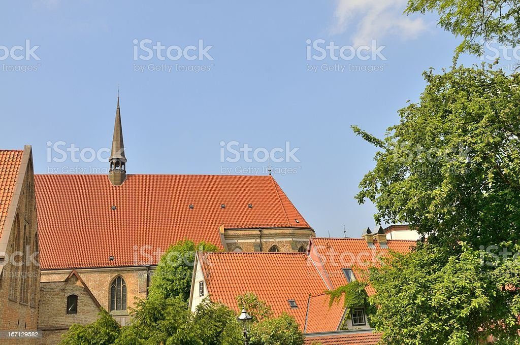 Rostock Abbey Of The Holy Ghost stock photo
