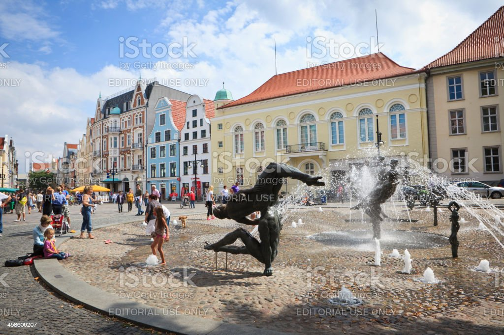 Rostock, Germany royalty-free stock photo