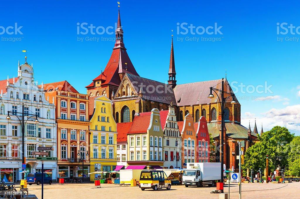 Rostock, Germany stock photo