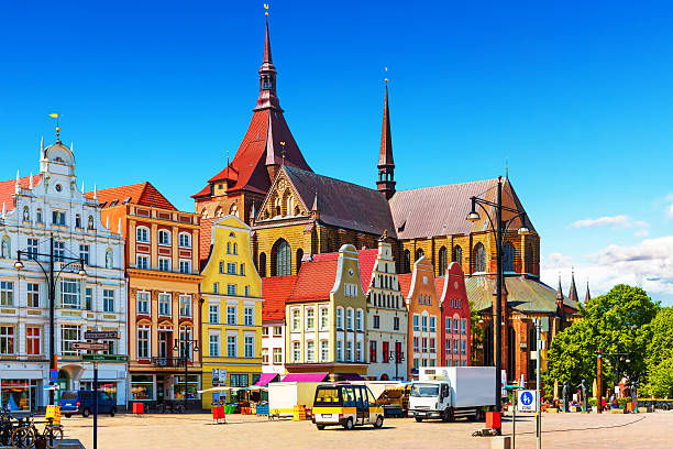 Rostock, Germany stock photo
