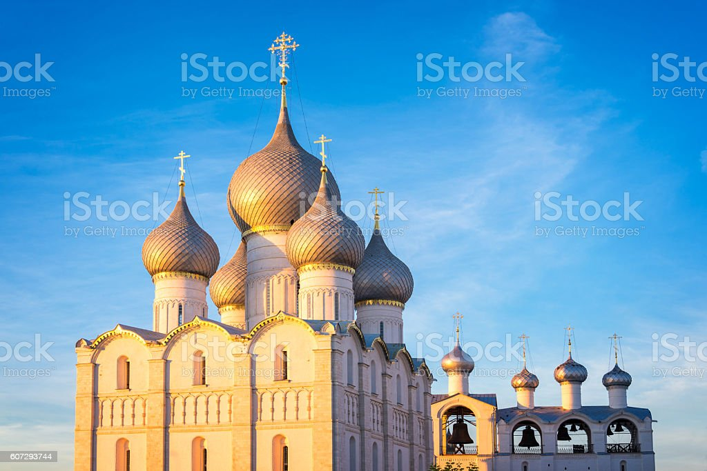 Rostov kremlin, Assumption cathedral, Golden Ring, Russia - Photo