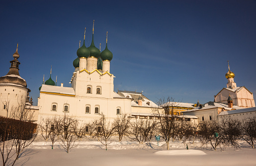 Rostov Kremlin In Snow In Winter Russia Stock Photo - Download Image Now