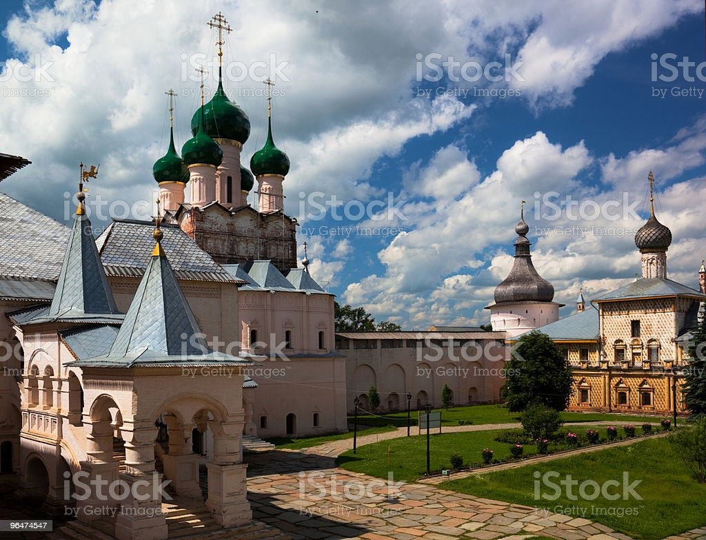 Rostov Veliky. Russia. royalty-free stock photo