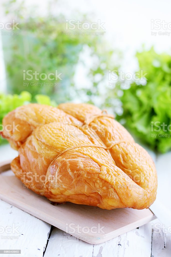 Rosy chicken breast royalty-free stock photo
