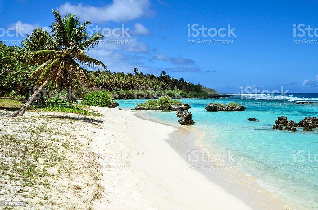 Rota 白い砂浜 - サイパンのロイヤリティフリーストックフォト