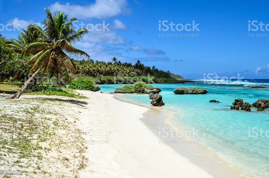 Rota White Sand stock photo