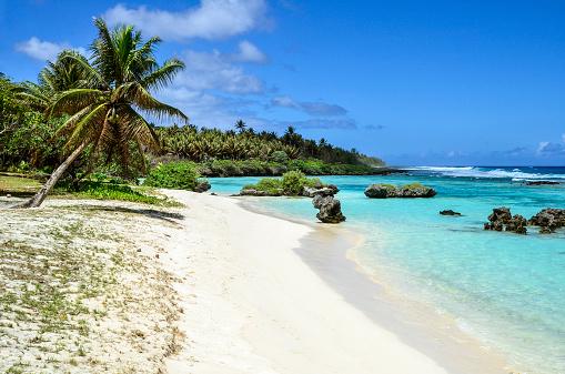 Rota 白い砂浜 - サイパンのストックフォトや画像を多数ご用意