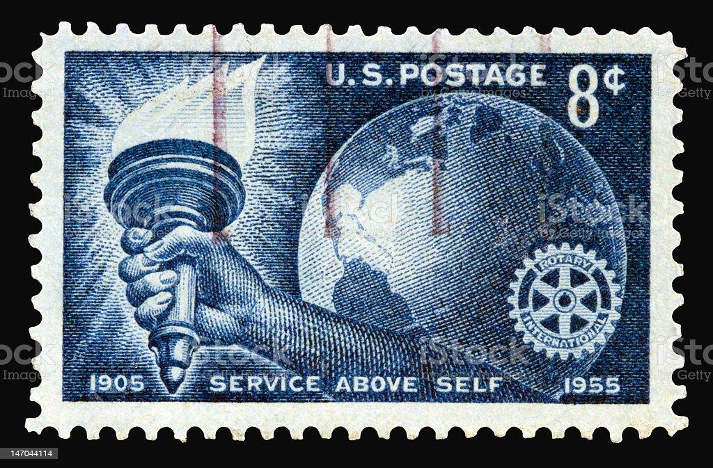 Rotary 1955 stock photo