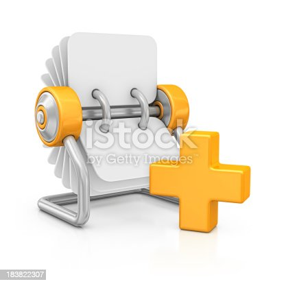 istock rotary card file and add sign 183822307
