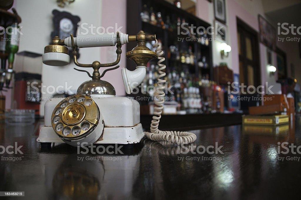 Rotary Phone stock photo