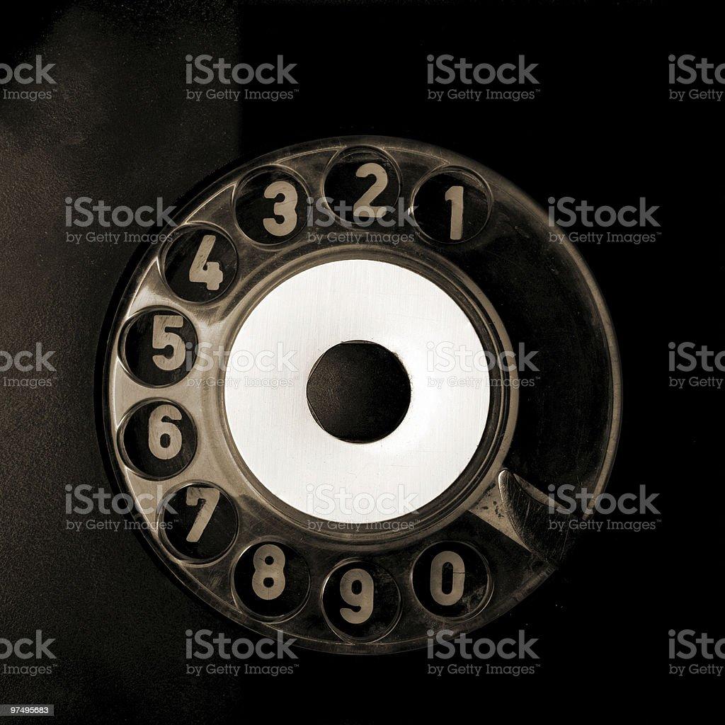 Rotary Phone royalty-free stock photo