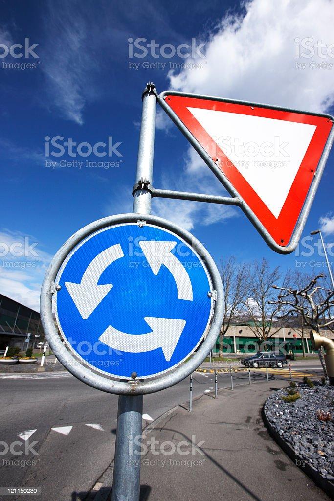 Rotary Sign stock photo