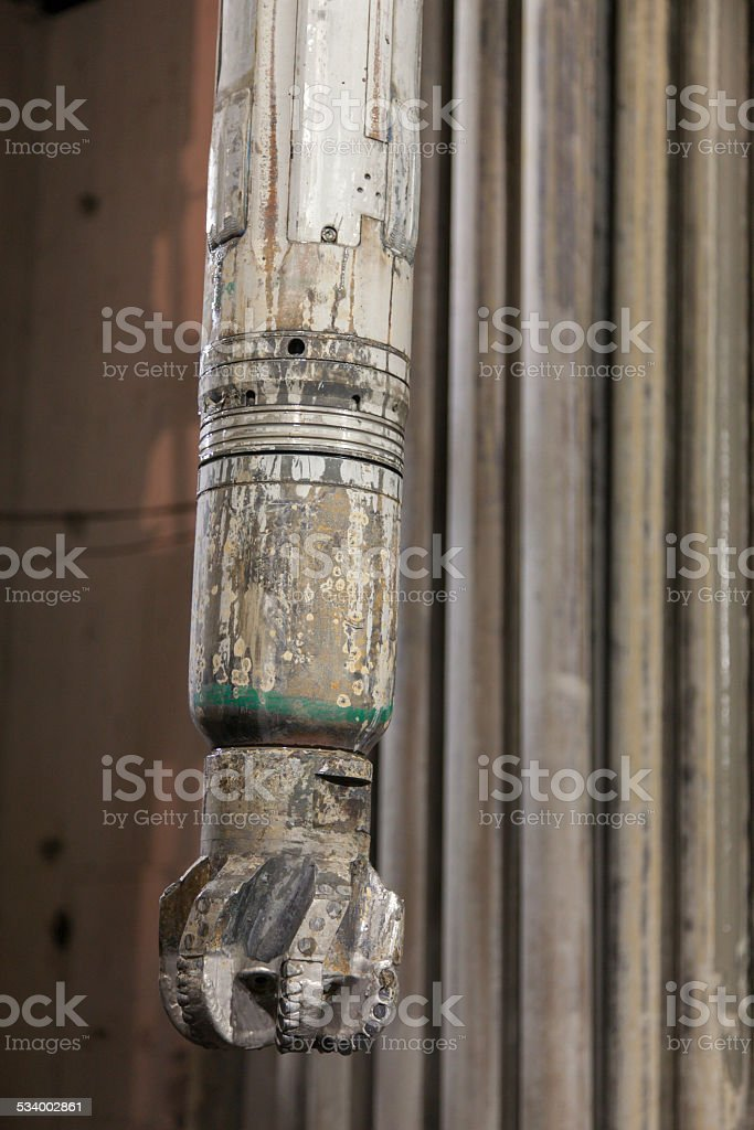 Rotary Steerable System with PDC Drill Bit stock photo