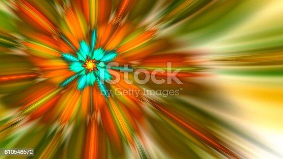 616254646istockphoto Rotating bright fireworks. 610548572