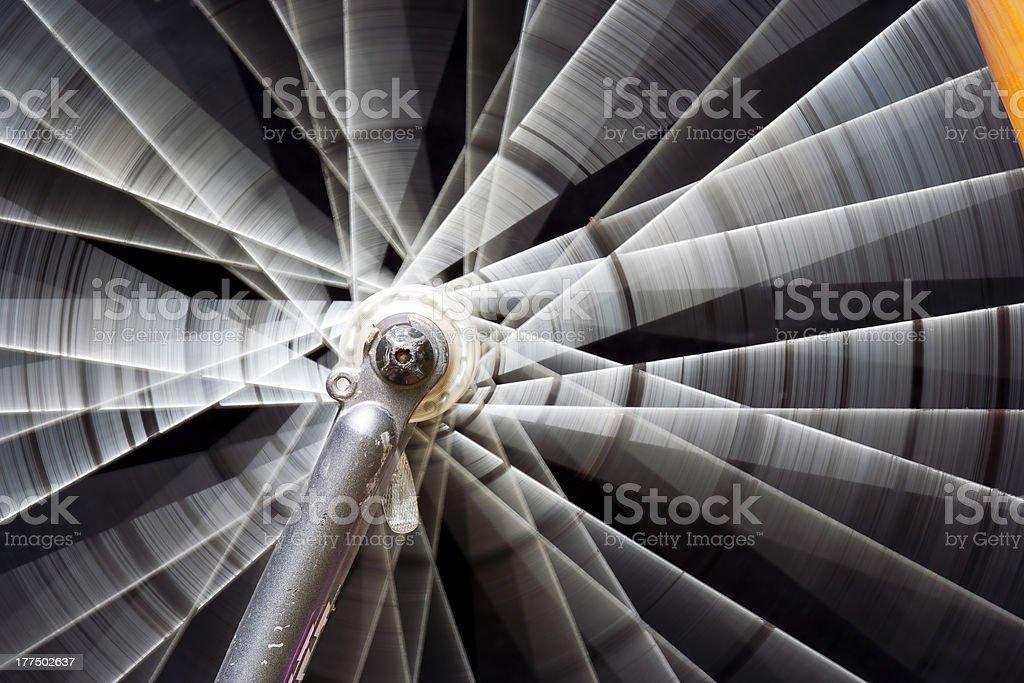 rotating wheel stock photo
