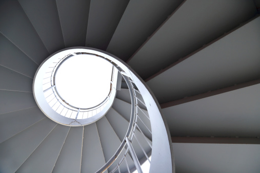 Rotation of the outdoor staircase