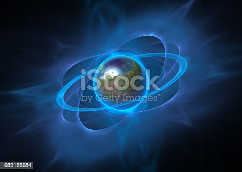 istock Rotation planet Concept design 683188654