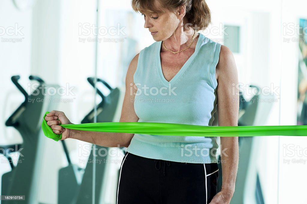 Rotator Cuff Exercises stock photo