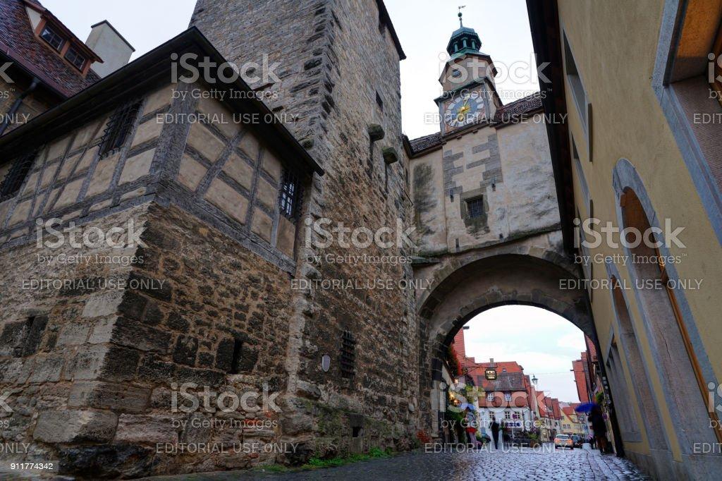 Rothenburg, Deutschland  – Foto