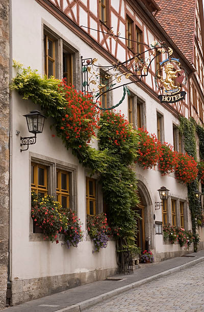 Rothenburg Hotel  inn stock pictures, royalty-free photos & images