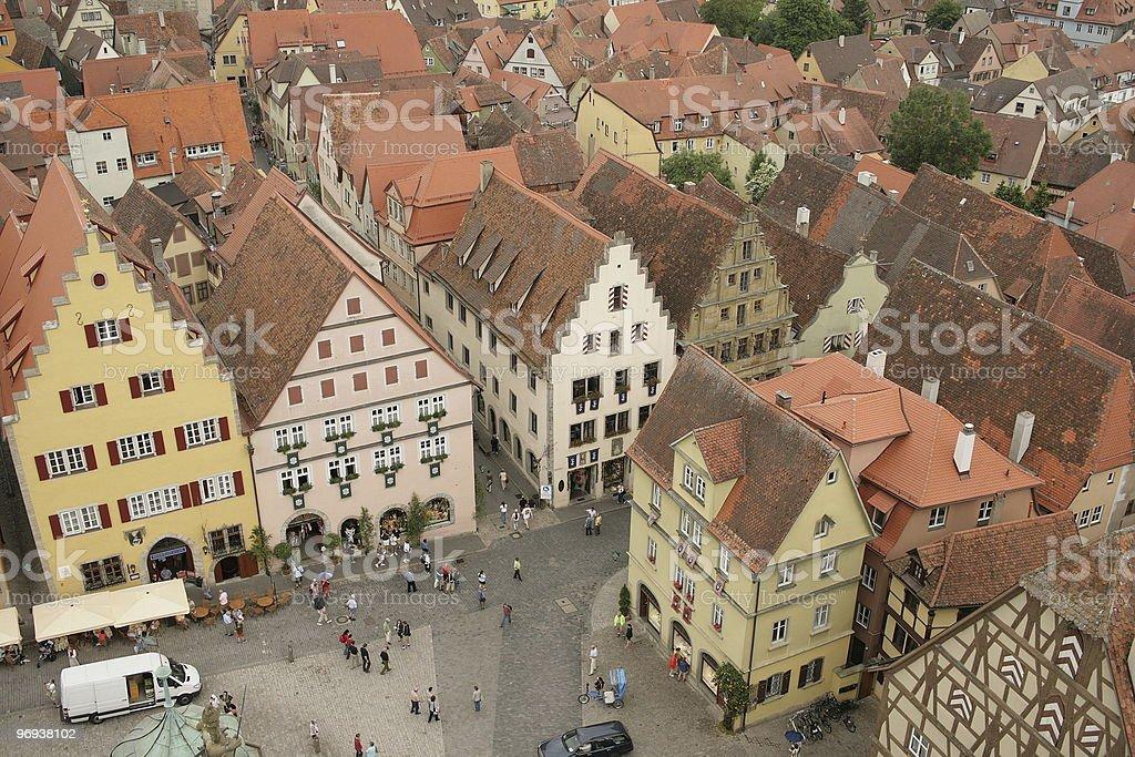 Rothenburg ob der Tauber. Germany. Europe. royalty-free stock photo