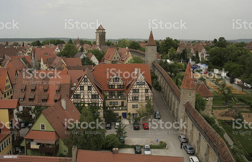 Rothenburg ob der Tauber. Germany. Europe. royalty-free stock photo
