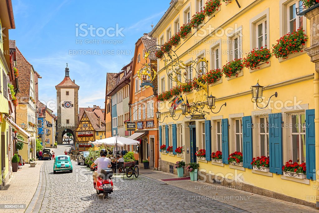 Rothenburg ob der tauber, Germany - Royalty-free Antiek - Toestand Stockfoto