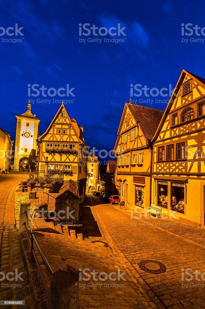 Ob Tauber Rothenburg Bundesland Der