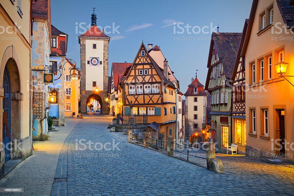 Rothenburg ob der Tauber – Foto