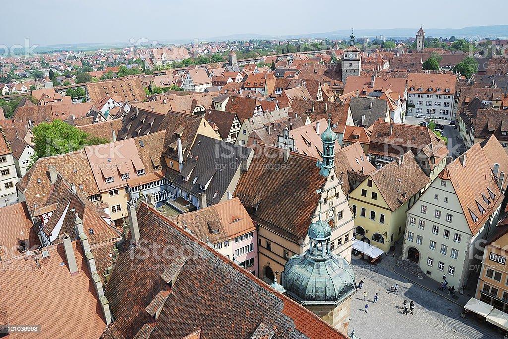 Rothenburg - Royalty-free Architectuur Stockfoto