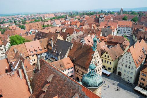 Rothenburg Stockfoto en meer beelden van Architectuur