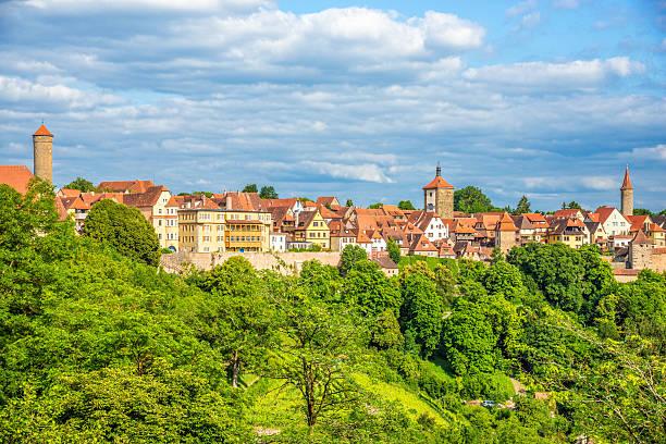 rothenburg (o.d. tauber) - rothenburg stockfoto's en -beelden
