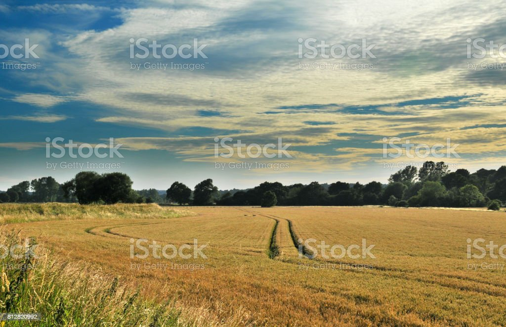 Rother Valley Landscapes stock photo