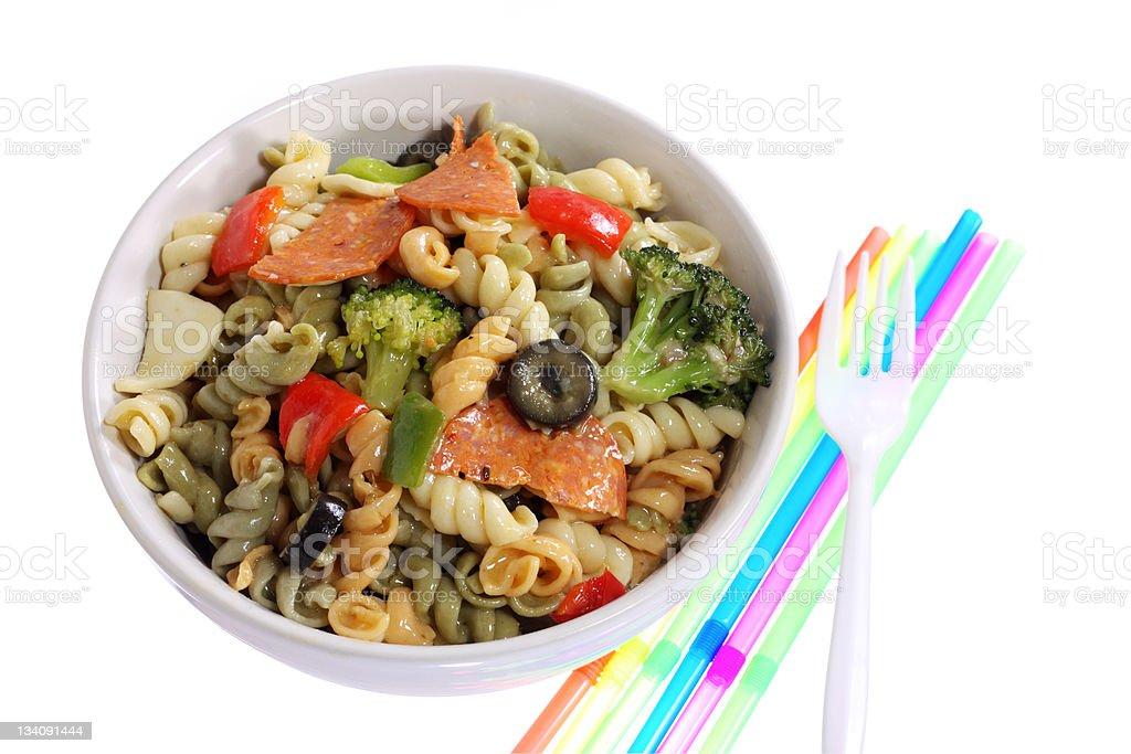 Rotini Salad stock photo