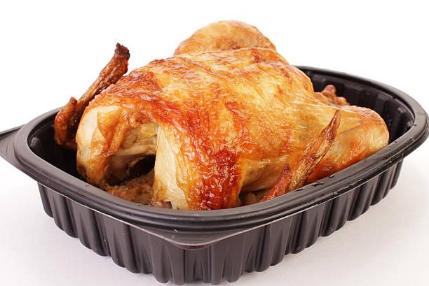 girarrosto pollo to go - girarrosto foto e immagini stock