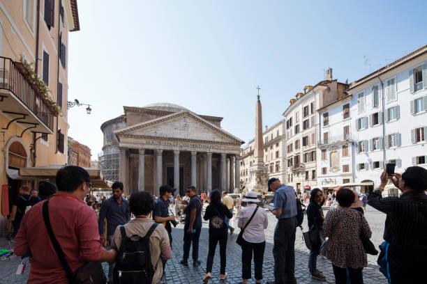 piazza della rotonda - roma foto e immagini stock